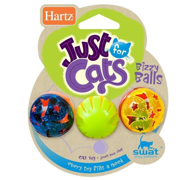 鈴の入ったボール(猫用おもちゃ)Just for Cats Bizzy Balls ビジーボール 3 個セット カラーアソート 並行輸入品|shimizunet004|03