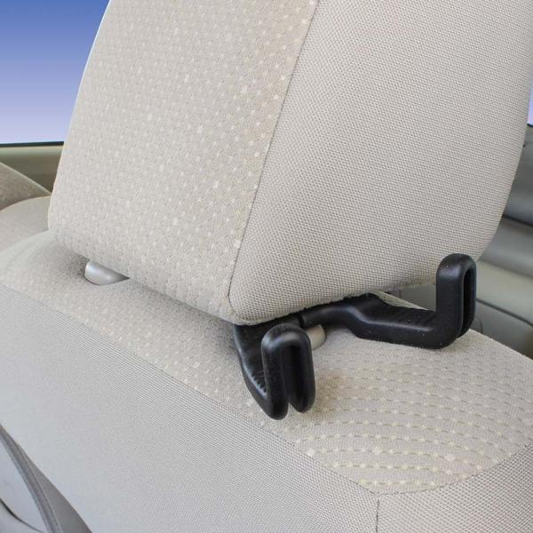 ナポレックス 車用 シートフック Fizz ダブルシートフック 簡単取付 耐荷重8kg ブラック 汎用 Fizz-1076|shimizunet004|03