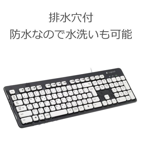 LOGICOOL ウォッシャブル キーボード K310|shimizunet004|04