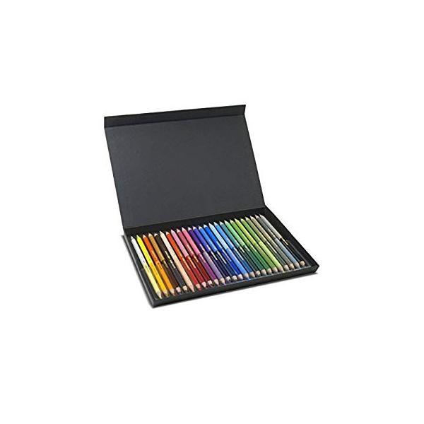 カメレオンペン 色鉛筆 油性 25本 50色 グラデーション(大人の塗り絵 イラスト画材)-正規品 shimizunet004 14