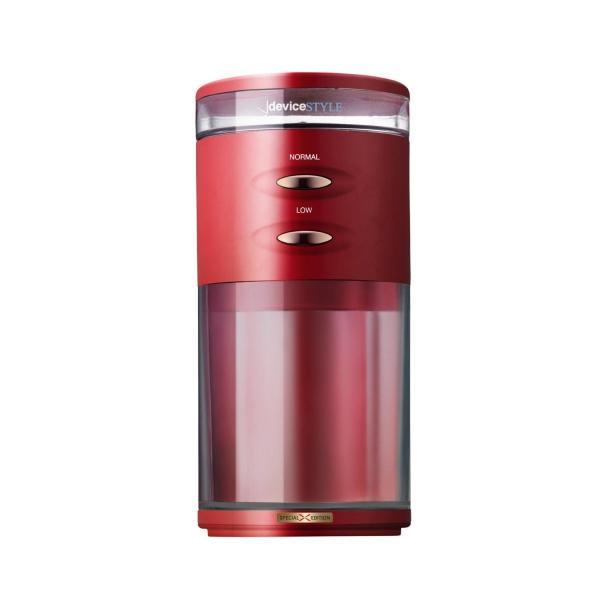 デバイスタイル 電動コーヒーミル レッドdeviceSTYLE コーヒーグラインダー GA-1X Special Edition GA-1X|shimizusyouten01|02