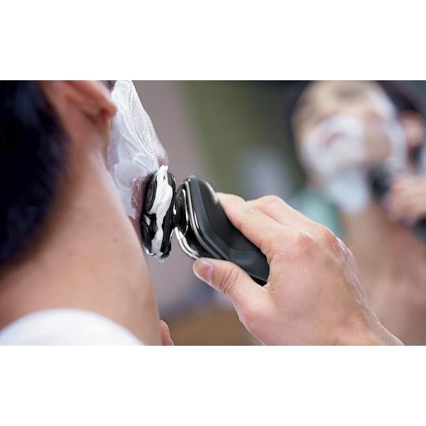 フィリップス 5000シリーズ メンズ 電気シェーバー 27枚刃 回転式 お風呂剃り amp; 丸洗い可 トリマー付 S5212/12