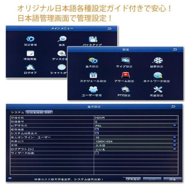 ZOSI 改良版8chハイブリッドAHDデジタルレコーダー AHD・アナログカメラ同時接続可能 カメラ最大8台接続 高性能 3in1 小型