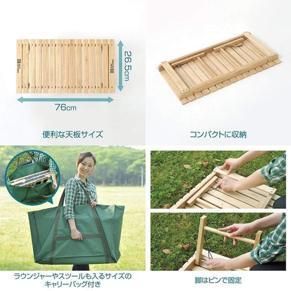 テントファクトリー テーブル ウッドライン グランドテーブル ナチュラル|shimizusyouten01|03