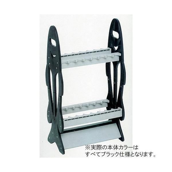 FINE JAPAN(ファインジャパン) ロッドスタンド ロッドスタンド RS-8122 RS8122 ブラック 44cm×25cm×80c