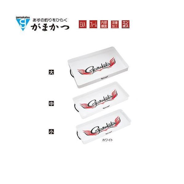 がまかつ(Gamakatsu) トランクトレイ・大 GM2434 ホワイト.