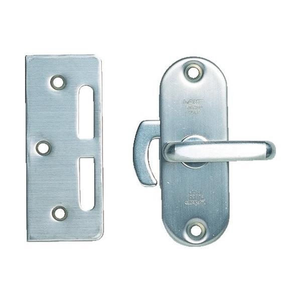 スガツネ工業 ランプ印 ステンレス鋼製引戸面付カマ錠 (表示器付) HHC-85|shimizusyouten01