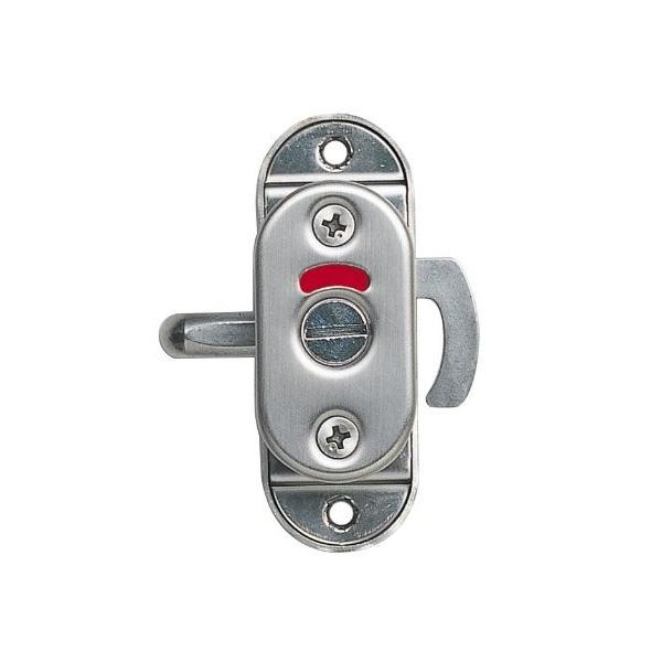 スガツネ工業 ランプ印 ステンレス鋼製引戸面付カマ錠 (表示器付) HHC-85|shimizusyouten01|06