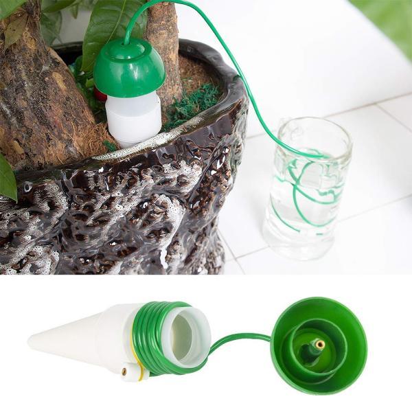 水やり当番 自動水やり器 給水ツール 園芸用品 留守中盆栽 鉢植え 繰り返し使用 自動給水装置 水遣り機 自動散水システム (M(5個セット