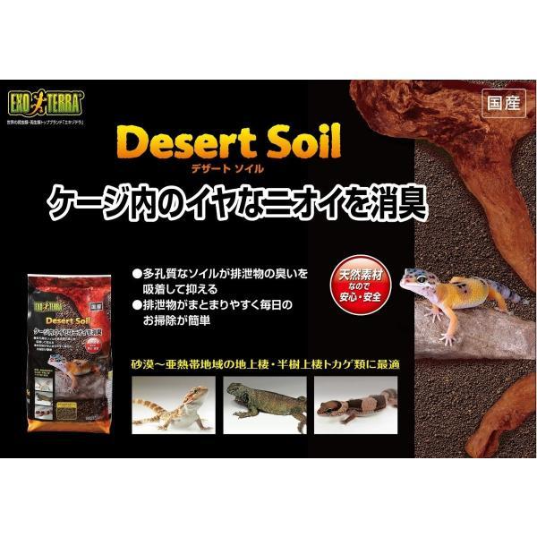ジェックス エキゾテラ デザートソイル 2kg 爬虫類飼育用ソイル|shimizusyouten01|05