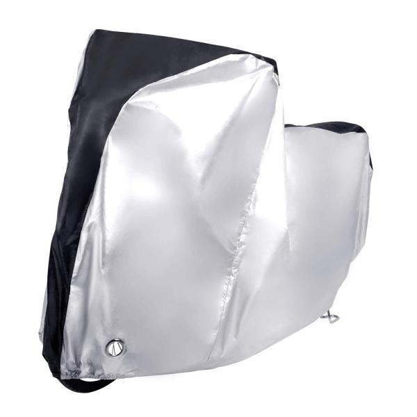 MICOE 自転車カバー サイクルカバー 防水 厚手 210Dオックス製 破れにくい 29インチまで対応 防風/防雨/防雪/UVカット/防犯 shimizusyouten01 04