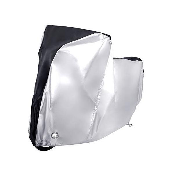 MICOE 自転車カバー サイクルカバー 防水 厚手 210Dオックス製 破れにくい 29インチまで対応 防風/防雨/防雪/UVカット/防犯 shimizusyouten01 05