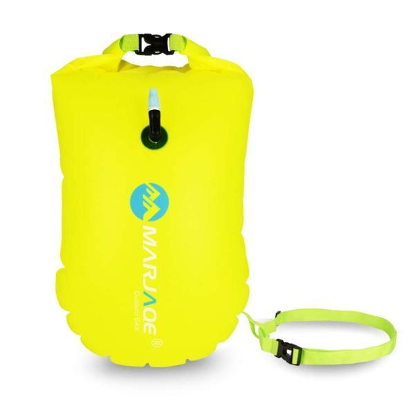 防水ドライバッグ + 防水スマホケース 安全な水泳用, トライアスロン 水泳ボードインフレータブルスイムブイプール/ビーチ用|shimizusyouten01