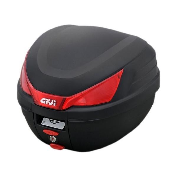GIVI(ジビ)イタリアブランド モノロックケース(トップケース/リアボックス) 未塗装ブラック 容量27L 汎用ベース付き ストップランプ|shimizusyouten01|03