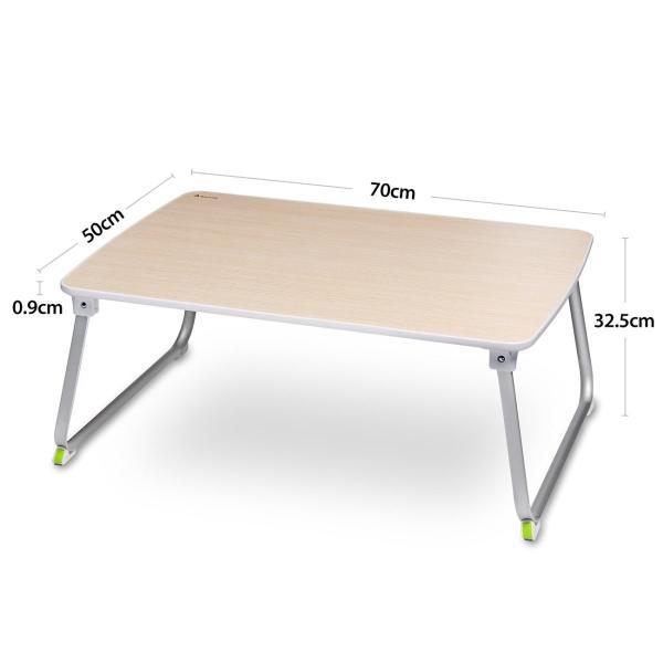 Salcar 折れ脚 ローテーブル ちゃぶ台 折り畳みテーブル 座卓 70*50*32.5 軽量 コンパクト キャンプテーブル PCデスク shimizusyouten01 05