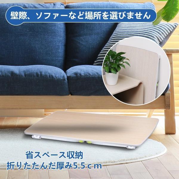 Salcar 折れ脚 ローテーブル ちゃぶ台 折り畳みテーブル 座卓 70*50*32.5 軽量 コンパクト キャンプテーブル PCデスク shimizusyouten01 08