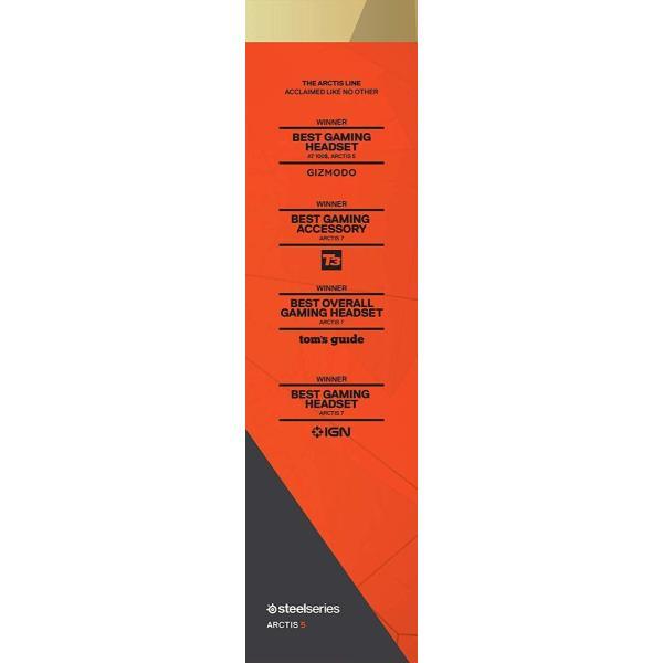 国内正規品密閉型 ゲーミングヘッドセット SteelSeries Arctis 5 Black (2019 Edition) 61504|shimizusyouten01|02