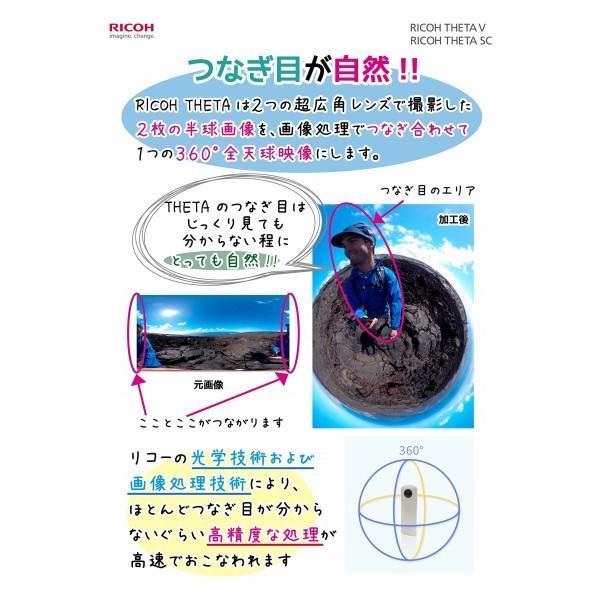 RICOH 360度カメラ RICOH THETA SC (ホワイト) 全天球カメラ 910740