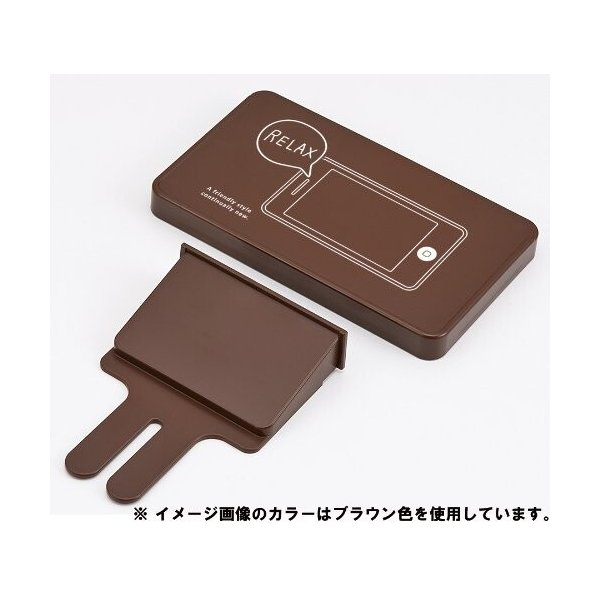 like-it トイレ シェルフ スクエア Smart Shelf - for mobile,wallet&coins アイボリー 幅17x奥10x高13cm SS-11L|shimoyana|03
