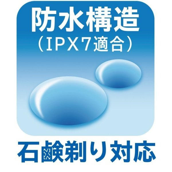 日立 シェーバー 往復式 3枚刃 お風呂剃り可 丸洗い可 IPX7防水 RM-T305 B shimoyana 07