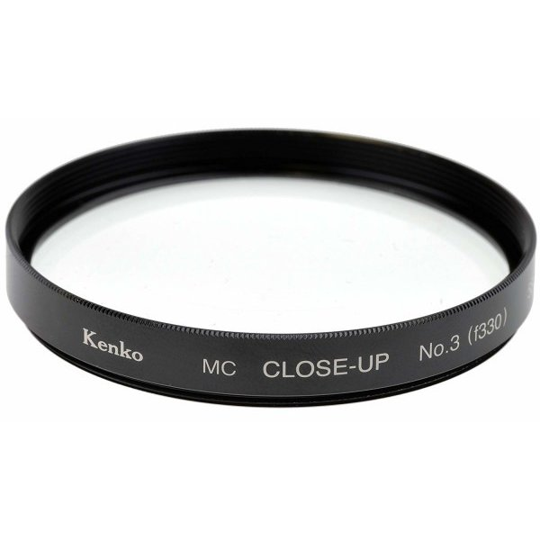 Kenko レンズフィルター MC クローズアップレンズ No.3 62mm 近接撮影用 362730