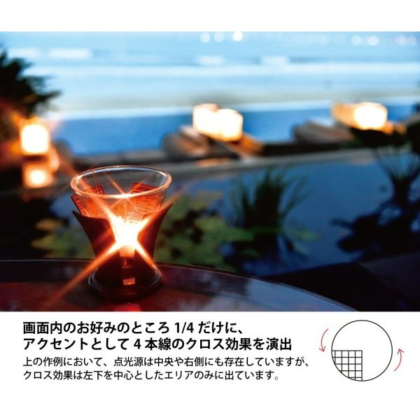 Kenko レンズフィルター R-パーシャル・クロススクリーン 77mm クロス効果用 377260
