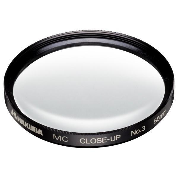 HAKUBA 55mm レンズフィルター MCクローズアップレンズ No.3 日本製 CF-CU355