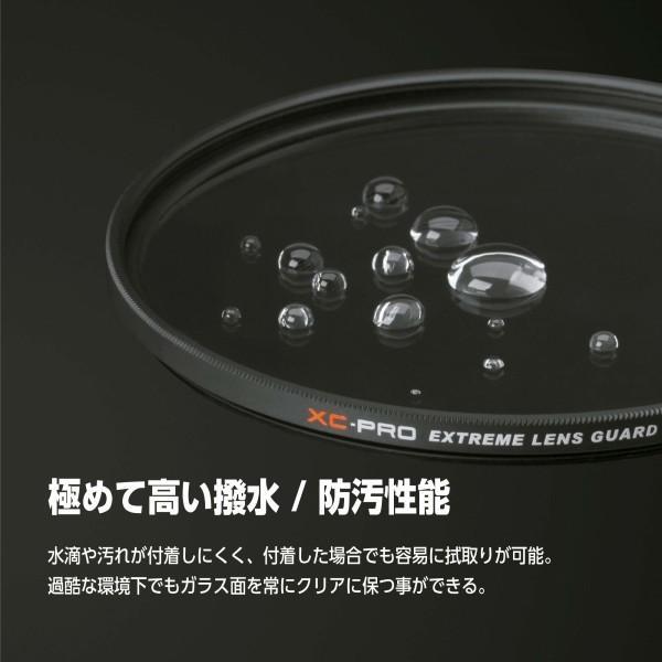 HAKUBA 55mm レンズフィルター XC-PRO 高透過率 撥水防汚 薄枠 日本製 レンズ保護用 CF-XCPRLG55