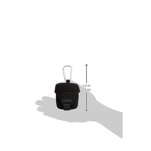 HAKUBA レンズケース ネオプレンレンズケース M ブラック KLC-NPM