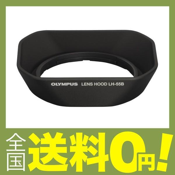 OLYMPUS レンズフード ミラーレス一眼 PEN用  LH-55B