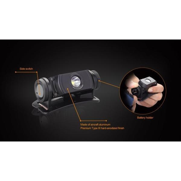 FENIX(フェニックス) HL55 Cree XM-L2 T6 LED ヘッドライト 明るさ最高900ルーメン
