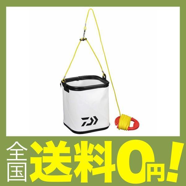 ダイワ(Daiwa) 水汲み バケツ バッカン S21(J) ホワイト