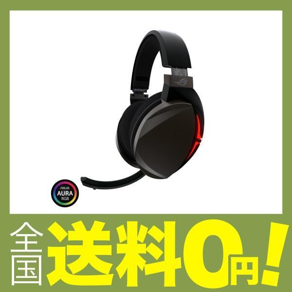ASUS PC、MAC、ゲーム機器等に対応可能なUSB2.0&3.5mmコネクタモデル ゲーミングヘッドセット ROG Strix Fusion 300|shimoyana