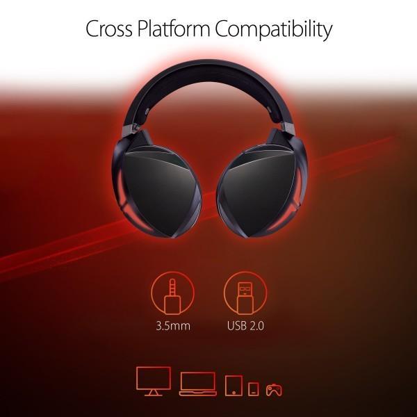 ASUS PC、MAC、ゲーム機器等に対応可能なUSB2.0&3.5mmコネクタモデル ゲーミングヘッドセット ROG Strix Fusion 300|shimoyana|04
