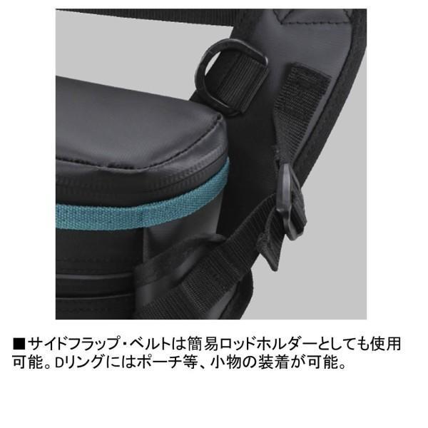 ダイワ(Daiwa) タックルバッグ エメラルダス タクティカルサイバッグ(A) ブラック
