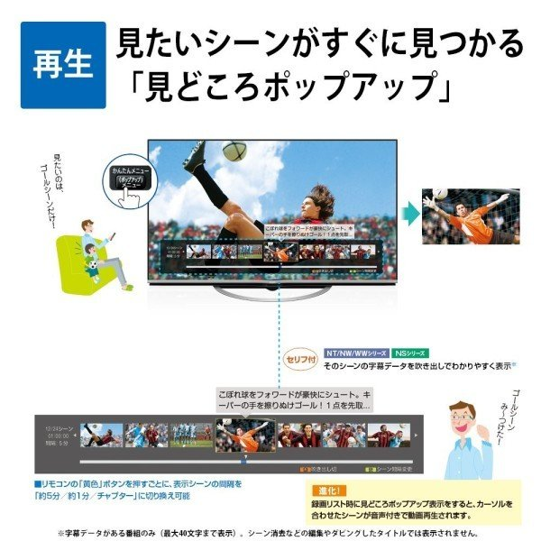 シャープ AQUOS ブルーレイレコーダー 500GB 2チューナー BD-NW520|shimoyana|05