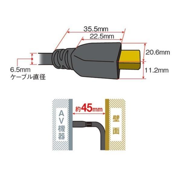 パナソニック HDMIケーブル 1m ブラック RP-CHK10-K|shimoyana|04