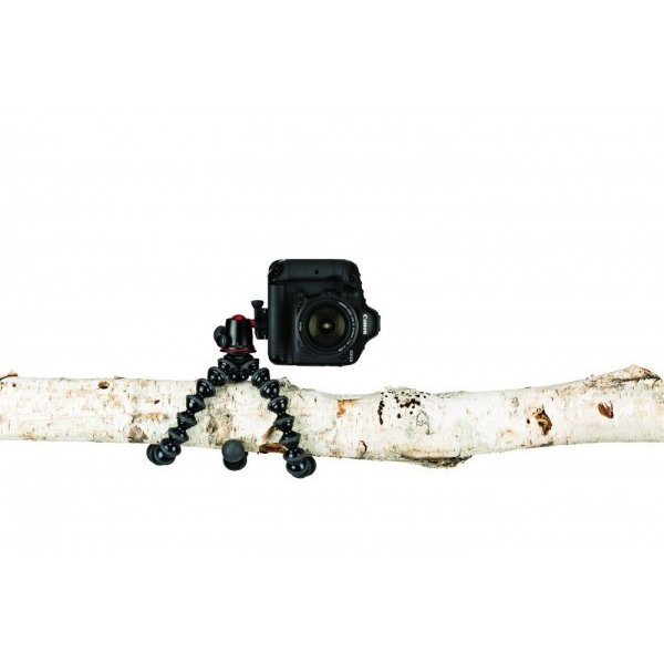 Joby ミニ三脚 ゴリラポッド 5Kキット 耐荷重5kg 雲台付属 ブラック/チャコール JB01545-PKK