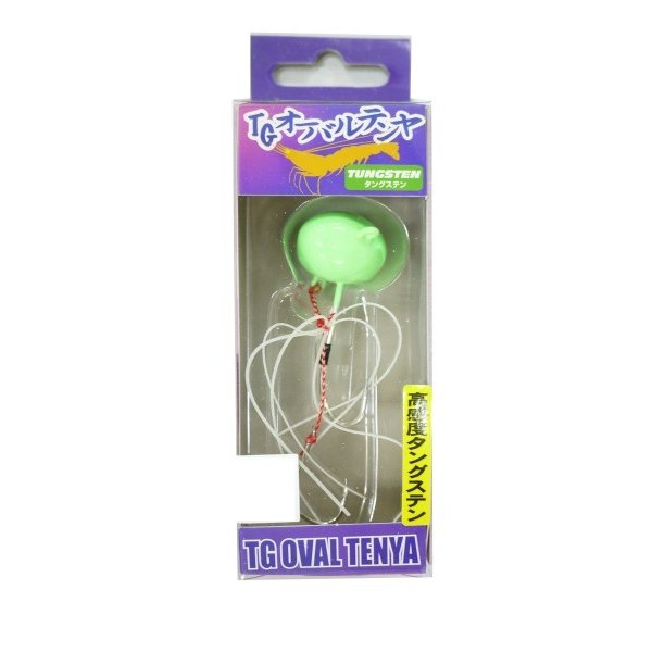 エコギア(Ecogear) TGオーバルテンヤ 15号 TG09 グリーングロウ 12475