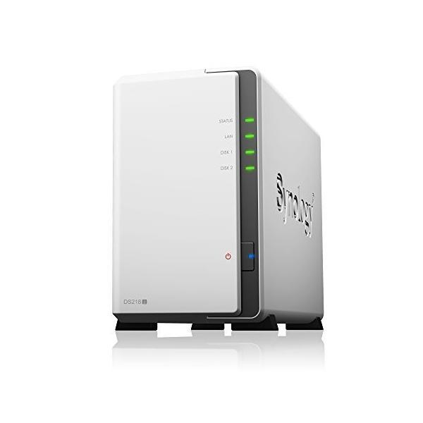 Synology DiskStation DS218j (2ベイ /  デュアルコアCPU搭載 / 512MBメモリ搭載) 多用途な初心者向け shimoyana