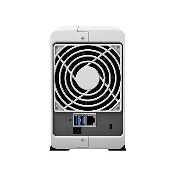 Synology DiskStation DS218j (2ベイ /  デュアルコアCPU搭載 / 512MBメモリ搭載) 多用途な初心者向け shimoyana 03