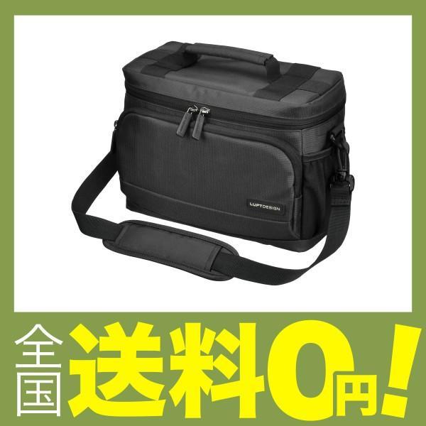 HAKUBA カメラバッグ ルフトデザイン アーバンウォーカー ショルダーバッグ M 4.4L ブラック SLD-UW-SBMBK|shimoyana
