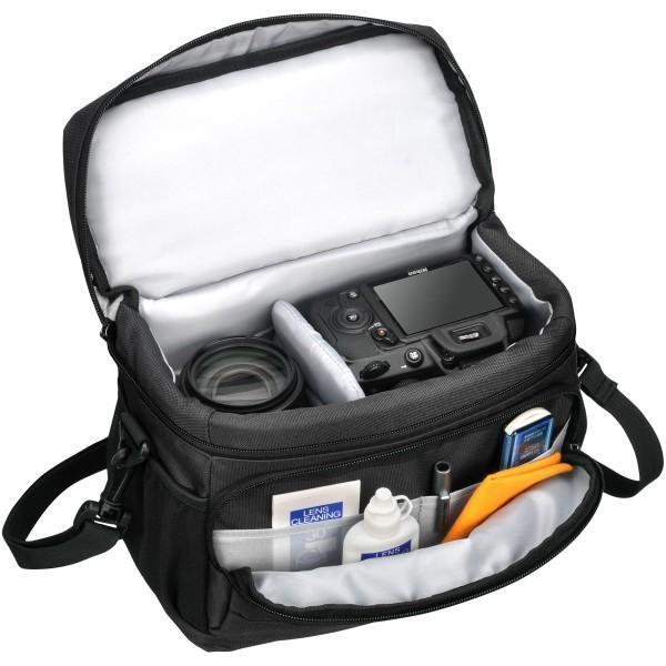 HAKUBA カメラバッグ ルフトデザイン アーバンウォーカー ショルダーバッグ M 4.4L ブラック SLD-UW-SBMBK|shimoyana|02