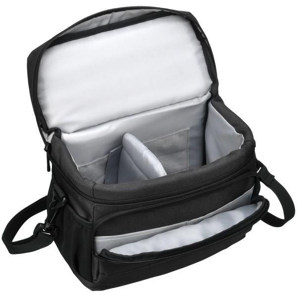 HAKUBA カメラバッグ ルフトデザイン アーバンウォーカー ショルダーバッグ M 4.4L ブラック SLD-UW-SBMBK|shimoyana|05