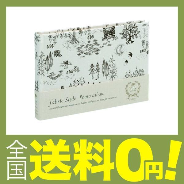 ナカバヤシ アH-B6B-133-W B6サイズ 100年台紙フリーアルバム フォレスト ホワイトの画像