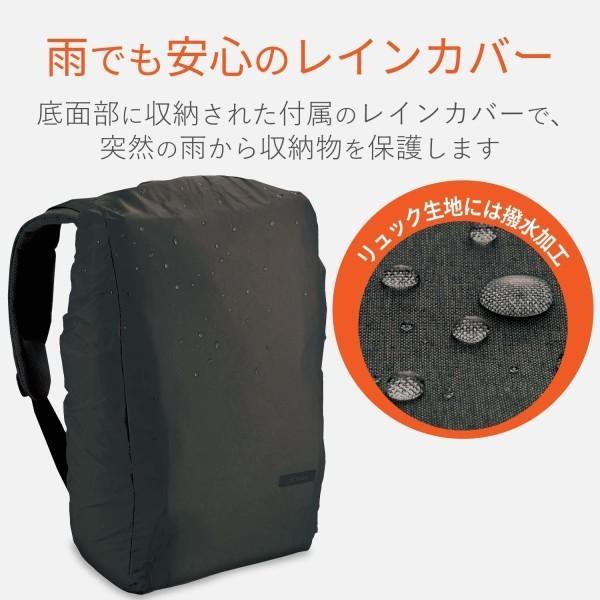 エレコム ビジネスバッグ リュック off toco(オフトコ) 3WAY PCバックパック ハイグレード ブラック BM-OF02BK