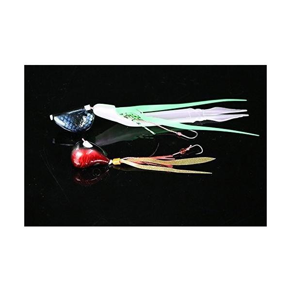 JACKALL(ジャッカル) タイラバ ビンビン玉 スルメデス 160g オレンジゴールド/オレイカ ルアー