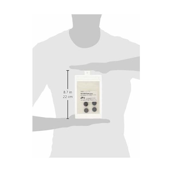 AET  インシュレーター 4個 ブラック SH-2007A(BK)