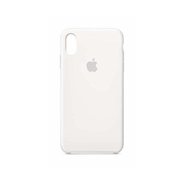 Apple iPhone XS Maxシリコーンケース - ホワイト|shimoyana|02