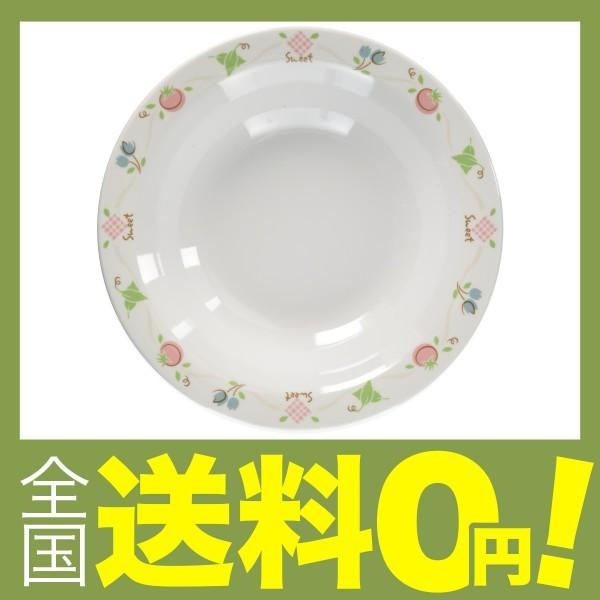 Mannen Melamine   「アプリケ」スープ皿 23cm  AP-7815 メラミン 日本製  RSC56815 shimoyana